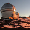 Hawaii - Snow and Stars : The summit of Mauna Kea